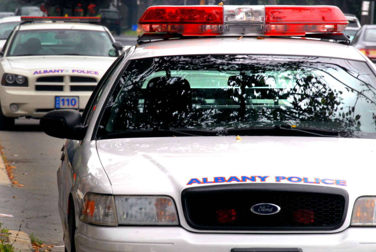 Albany police car