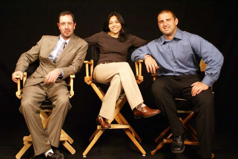 Enzo Simone, Jennifer Yee and Eric Buzzetto are shown left to right. Photo: Contributed Photo / The News-Times Contributed