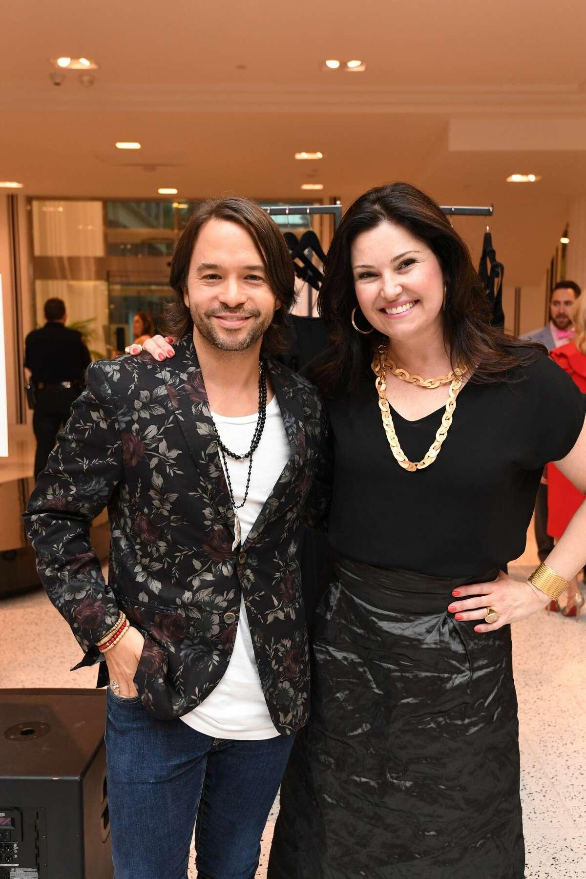 Jay Godfrey and Claudia Labao