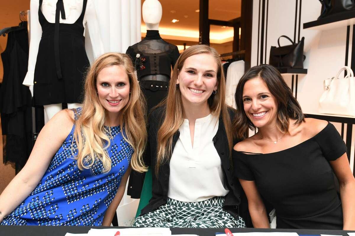 Elizabeth Doughtie, Jordan Lewis, and Allie Danziger