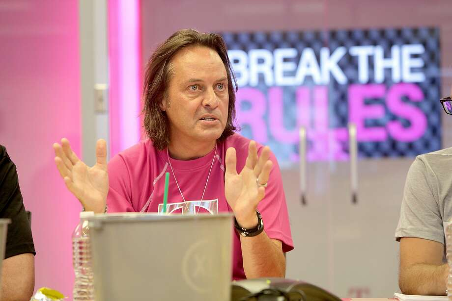 T-Mobile CEO John Legere Photo: Ron Wurzer, Associated Press