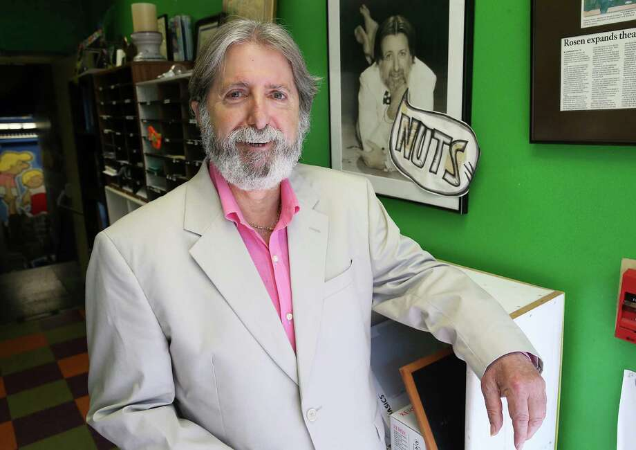 Magik Theatre founder Richard Rosen has been working on a musical and a play, among other projects, since retiring from the children's theater. Photo: Tom Reel /San Antonio Express-News / 2016 SAN ANTONIO EXPRESS-NEWS