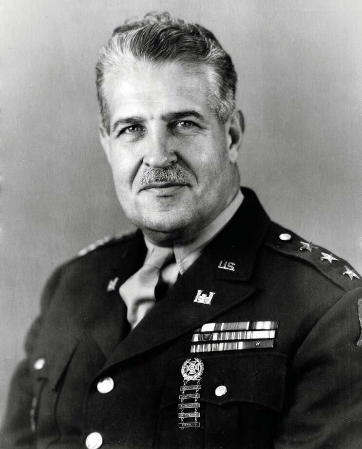 Lt. Gen. Leslie R. Groves Photo: Atomic Heritage Foundation / Contributed Photo / Darien News