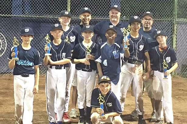 The Wilton 12U 50/70 baseball team won the Chris Gallo Memorial Tournament last week.