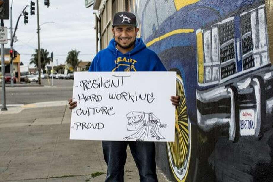 "Fernando ""Rush"" Santos, a resident of Oakland's Iveywood neighborhood. Photo: Stephen Texeira, Stephen Texeira Photography"