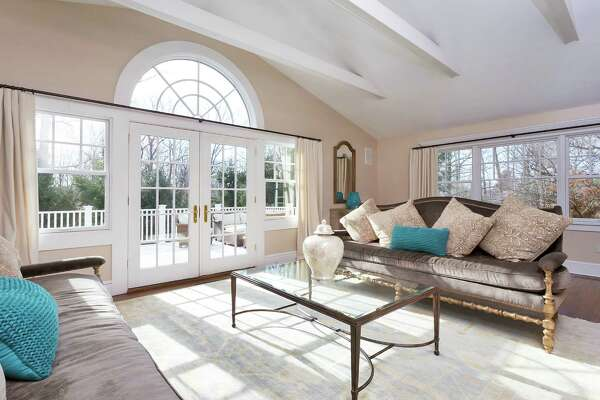 At the end of Arrowhead Way Extension cul-de-sac, an expanded five bedroom Colonial offers 4,400 square feet of turnkey living in the heart of Tokeneke sits for the taking.