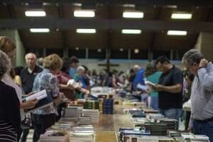 """The sold-out """"Gods of Atheism"""" conference at the Hyatt Hill Country Resort and Spa Aug. 19-21 will feature what organizers believe is the state's largest traveling faith bookstore, which will be open to the public tax-free this weekend."""