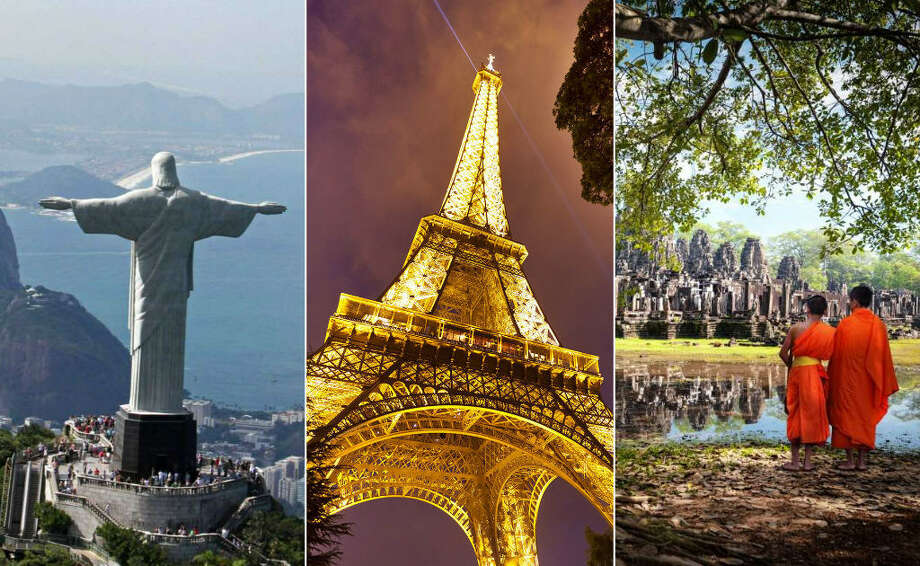 >>KEEP CLICKING TO SEE WHICH SITES WERE NAMED THE TOP 25 LANDMARKS IN THE WORLD BY TRIPADVISOR.