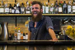 Benjamin Krick is the former manager of the acclaimed Juniper Tar, which closed in June. Krick is seen here on August 11, 2016. Krick's departure from Juniper Tar comes as the bar's owner faces mounting legal and financial troubles at the bar and two other properties, Viva Taco Land and Swig Martini Bar.