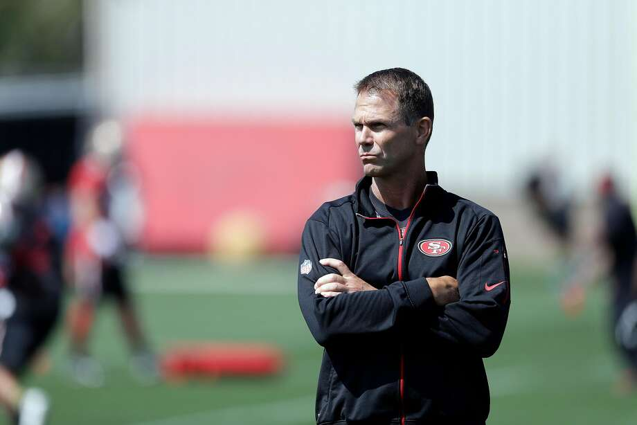 San Francisco 49ers general manager Trent Baalke during NFL football training camp Sunday, July 31, 2016, in Santa Clara, Calif. (AP Photo/Marcio Jose Sanchez) Photo: Marcio Jose Sanchez, Associated Press