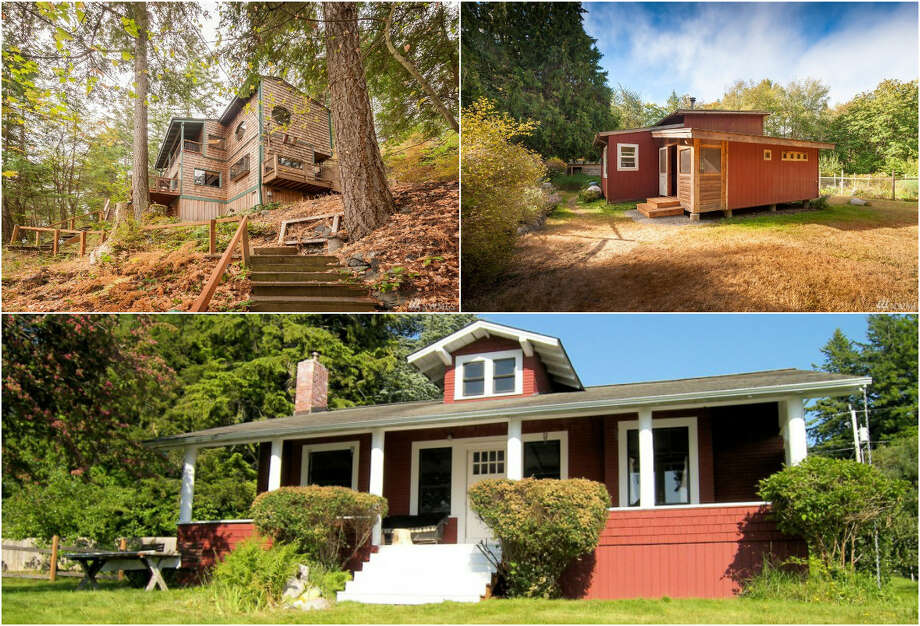 Click through to tour these three Lummi Island homes. Photo: Photos By Ed Lowe And Angie Dixon