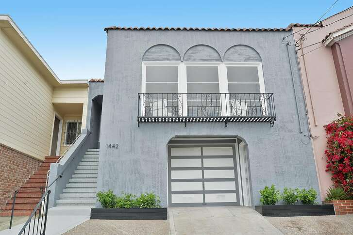 1442 22nd Ave. is a tastefully updated four bedroom Craftsman in San Francisco's Central Sunset neighborhood.