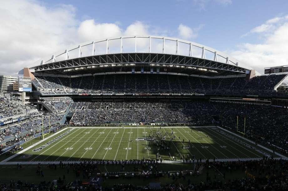 The Seahawks host the Minnesota Vikings in Seattle's home preseason opener from CenturyLink Field. Photo: Rachel La Corte/AP