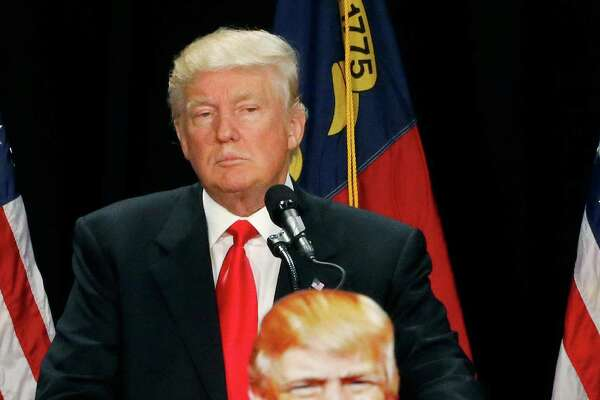 Donald Trump spoke for the first time since his campaign shake-up.