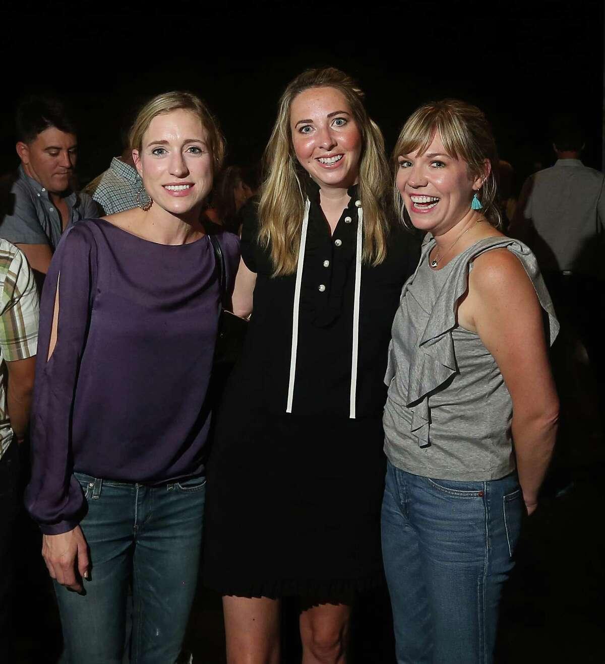 Laura Garwood, Amanda Blackwell and Caroline Kerr