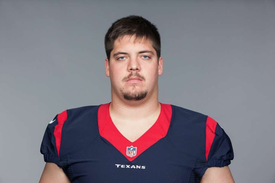 Greg Mancz started 16 games at center for the Texans last season before Nick Martin returned this year. Photo: AP