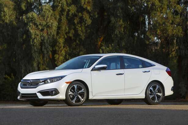 Honda designers and engineers deliver a sportier and more premium-quality Civic. It is lower and wider with a short front overhang and long rear deck.