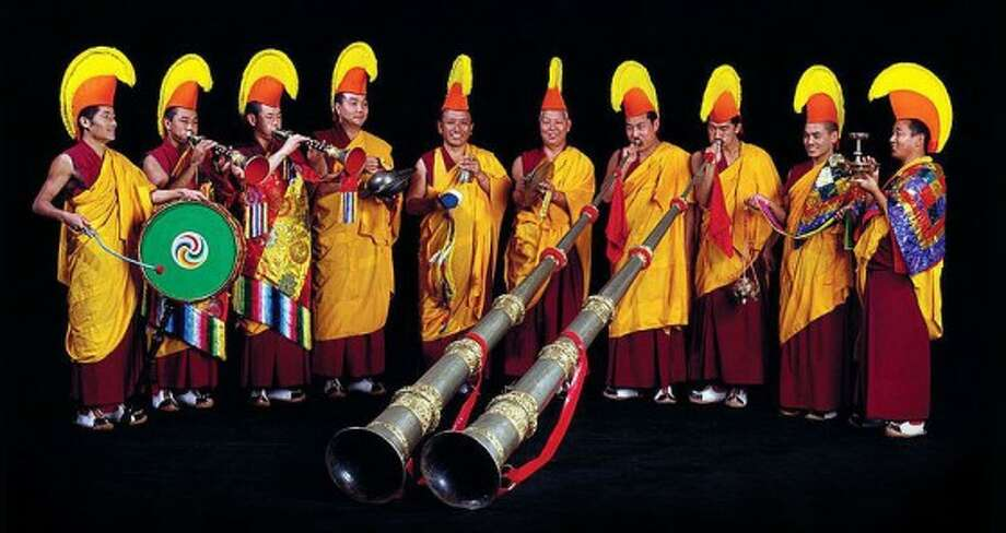 Performers from Tibet's Drepung Loseling Monastery will present a concert in conjunction with the creation of their sand mandala at Asia Society Texas Center at 7 p.m. Saturday. Photo: Courtesy Of Drepung Loseling Monastery