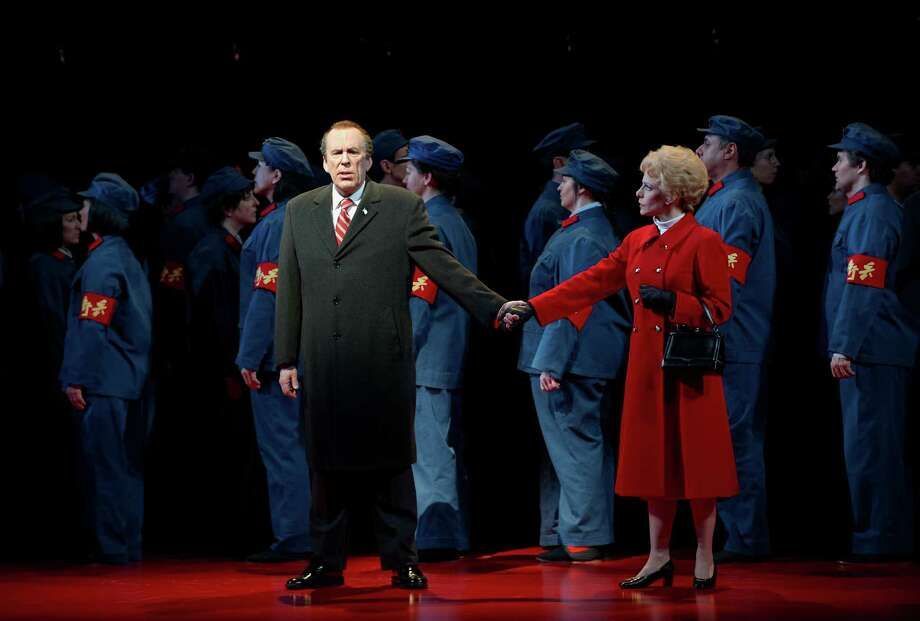 """""""Nixon in China,"""" the 2016-17 presentation by Houston Grand Opera. Photo: Michael Cooper / ©Michael Cooper Photographic ©Coopershoots 2011"""
