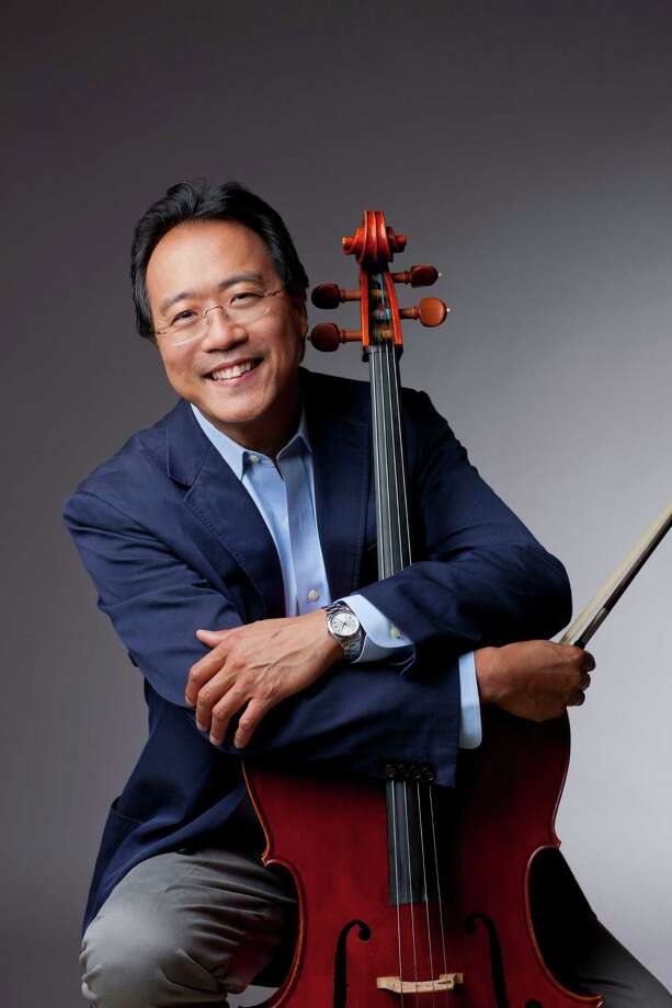 Cellist Yo-Yo Ma will perform with the San Antonio Symphony on Oct. 16, 2015. 