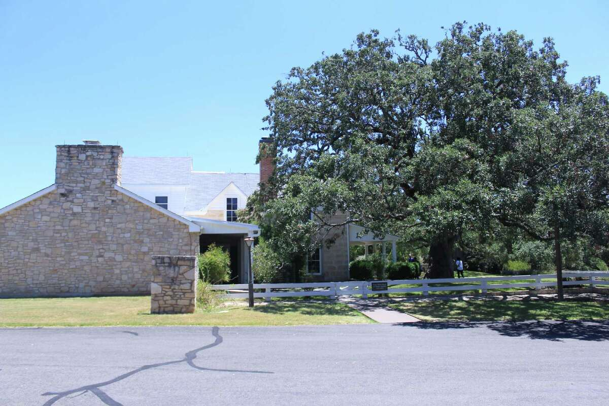 The Texas White House, where former President Lyndon B. Johnson and his wife Lady Bird lived, is the highlight of the Lyndon B. Johnson National Historical Park. The Parks Service does not allow photos inside.