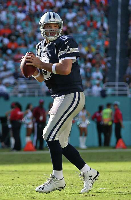 Statistically speaking, Tony Romo ranks among the Cowboys' all-time great quarterbacks. But naysayers single out his 2-4 postseason record. Photo: Rob Foldy /Getty Images / 2015 Getty Images