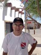 Local artist Al Borrego, Jr., has been a driving force in the revival of San Elizario.