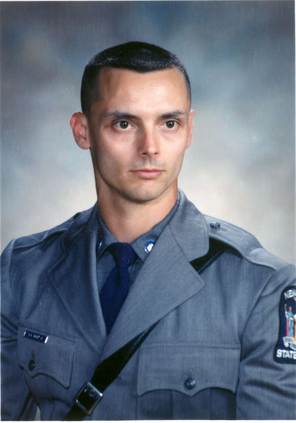 """Trooper Donald Baker Jr., who was assigned to the Troop G Loudonville barracks, was shot by Ralph """"Bucky"""" Phillips in the ambush that killed Joseph Longobardo."""