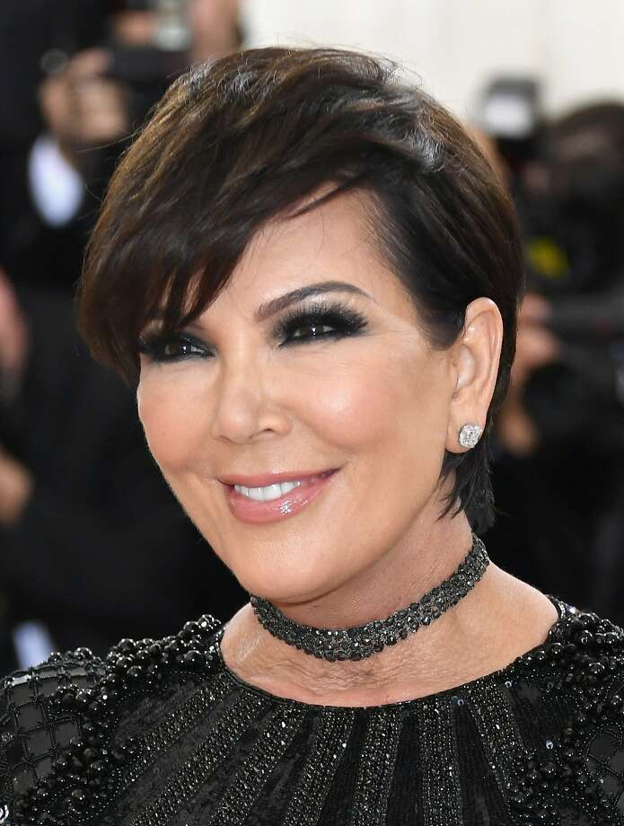 "Kris Jenner attends the ""Manus x Machina: Fashion In An Age Of Technology"" Costume Institute Gala at Metropolitan Museum of Art on May 2, 2016 in New York City. On Thursday, a 36-year-old Newark woman was arrested on federal charges of cyberstalking Jenner and sending threatening messages to her family members. Photo: Larry Busacca, Getty Images"