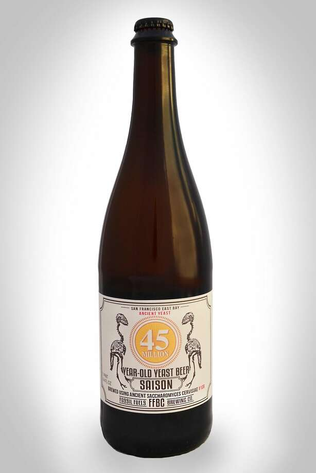Fossil Fuels Brewing Co. and Schubros Brewery have released a saison brewed with a yeast strain that's 45 million years old. Photo: Courtesy Fossil Fuels Brewing Company