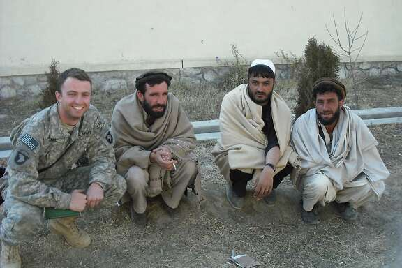 Capt. Matthew Ball is seen while on deployment to Afghanistan in this undated photo.