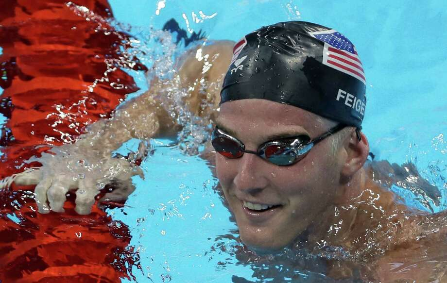 In this Aug. 2, 2016, file photo, United States' Jimmy Feigen smiles during a swimming training session prior to the 2016 Summer Olympics in Rio de Janeiro, Brazil. Feigen was one of four American Olympic swimmers in connection to a story of being held at gunpoint and robbed several hours after the last Olympic swimming races ended. That claim began to unravel when police said that investigators could not find evidence to substantiate it. Photo: Matt Slocum /Associated Press / Copyright 2016 The Associated Press. All rights reserved. This material may not be published, broadcast, rewritten or redistribu