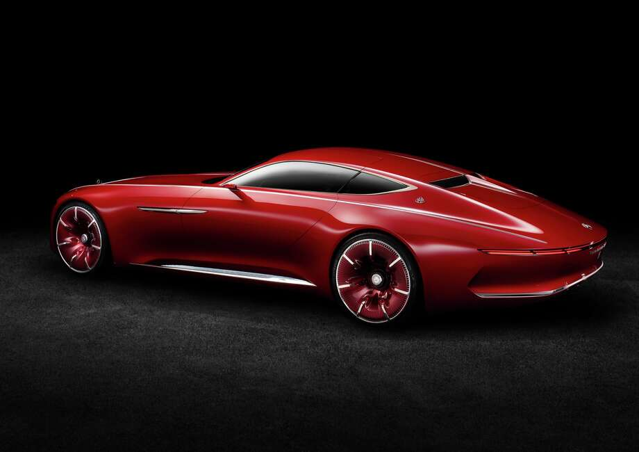The Vision Mercedes-Maybach 6 Photo: Mercedes-Benz