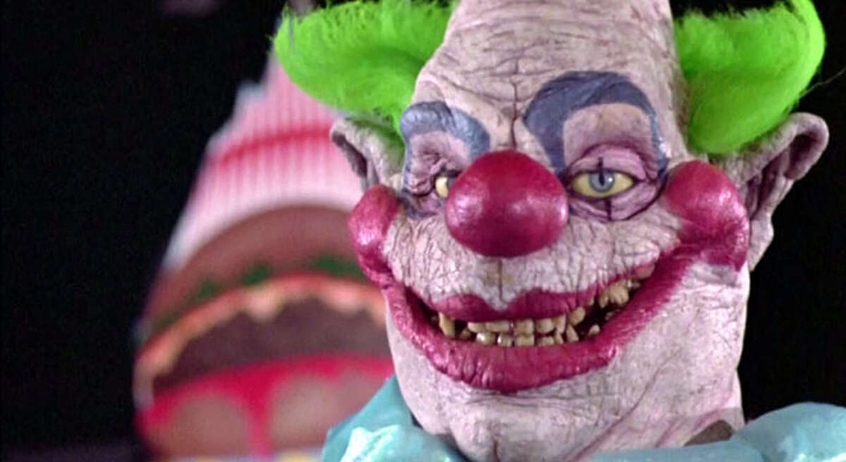 Scary clowns in movies: Killer Klowns from Outer Space (1988) Rotten Tomatoes Score: 71/100
