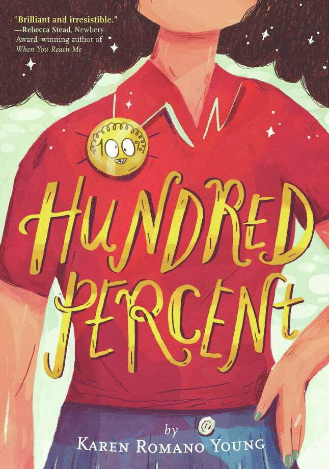 "Connecticut author Karen Romano Young will have a launch party for her new book, ""Hundred Percent,"" at Byrd's Books in Bethel on Saturday, Aug. 27. Photo: Chronicle Books / Contributed Photo"