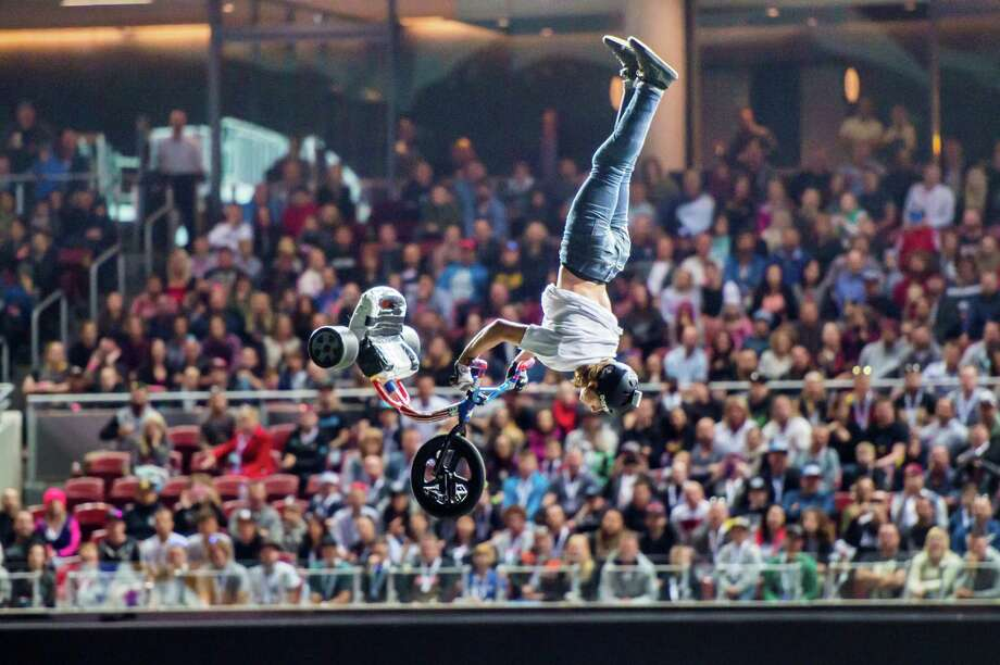 Nitro Circus Live! is coming to the Ballpark at Harbor Yard in Bridgeport on Friday. Find out more. Photo: Nitro Circus /Contributed Photo