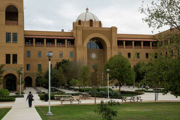 This photo shows the Central Academic Building at the Texas A&M University-San Antonio campus. The university welcomes its first freshman class on Monday.