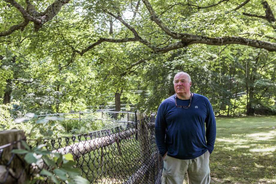 Michael Skakel, who was convicted of the 1975 murder of 15-year-old Martha Moxley, in Bedford, New York, in July. Photo: George Etheredge /The New York Times / NYTNS