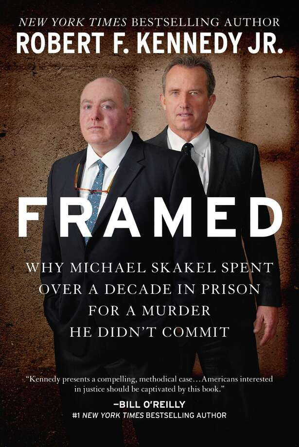 "Robert F. Kennedy Jr.'s book ""Framed."" Photo: Contributed Photo / Greenwich Time Contributed"