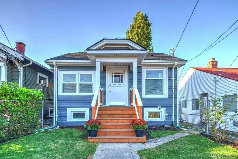 The first home, 4840 S. Kenyon St., is listed for $349,000. The two bedroom, one bathroom home is in the Brighton neighborhood in South Seattle. The home is 810 square feet and features a new roof, fresh interior and exterior paint and an updated kitchen. The home was built in 1926.There will be an open showing for this home on Saturday, August 20 and Sunday, August 21 from noon to 3 p.m. You can see the full listing here. Photo: Derek DeWolf, Windermere RE/Capitol Hill, Inc