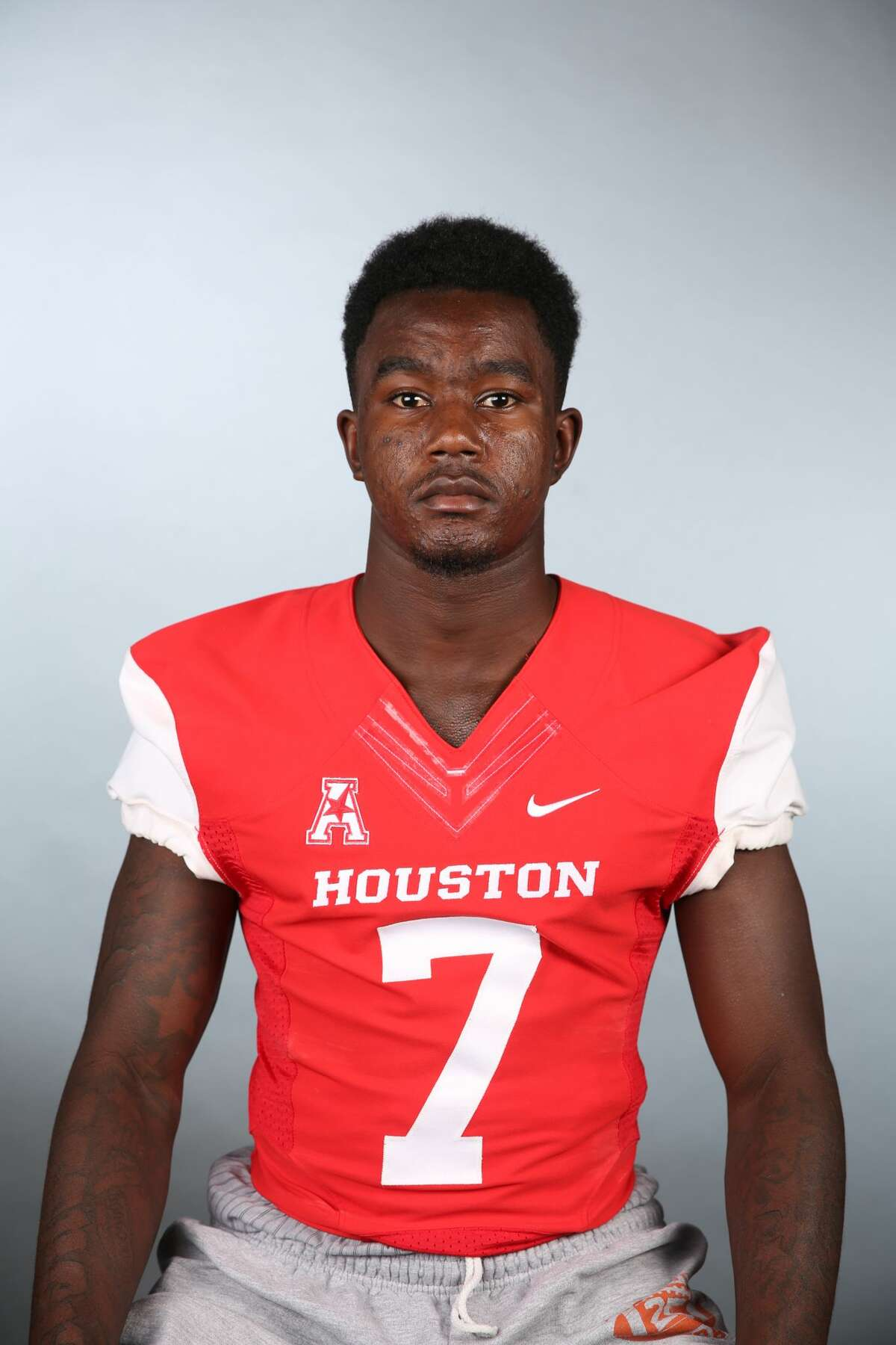 Freshman Marquez Stevenson, part of a heralded group of receivers in UH's 2016 signing class, is expected to be sidelined six to eight weeks with a broken collarbone.