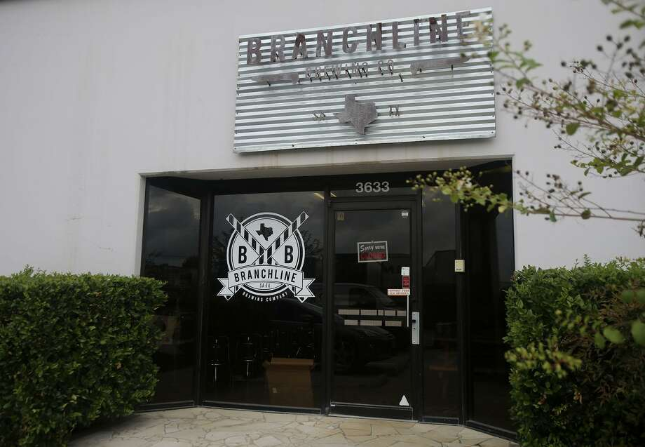 Located off Wetmore Road at 3633 Metro Parkway, Branchline Brewing Co. closed its tap room last month. The company filed for bankruptcy protection on Tuesday. Photo: John Davenport /San Antonio Express-News / ©San Antonio Express-News/John Davenport