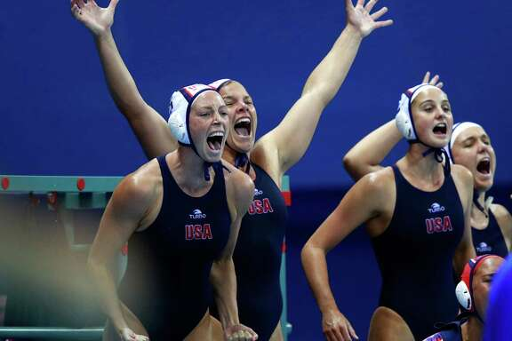 The U.S. women's water polo team was all cheers after a dominant run in Rio was capped by a 12-5 victory over Italy for a gold medal.