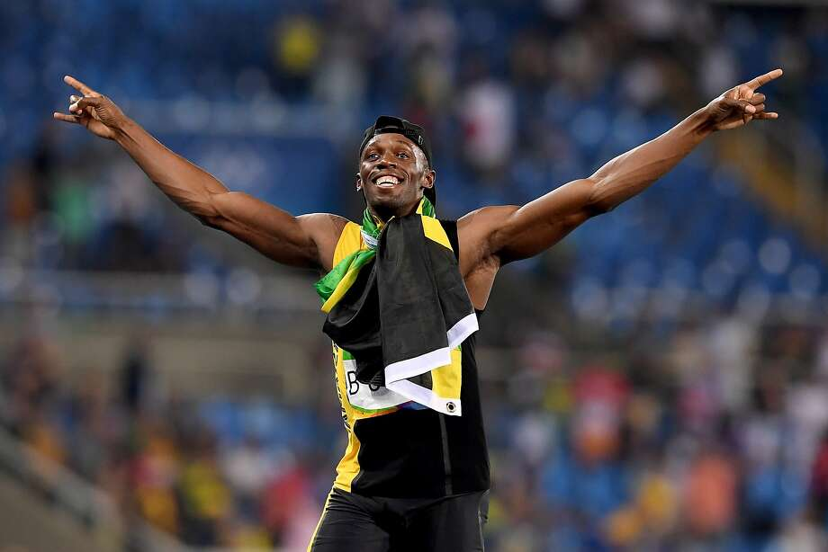 RIO DE JANEIRO, BRAZIL - AUGUST 19:  Usain Bolt of Jamaica reacts after winning the Men's 4 x 100m Relay Final on Day 14 of the Rio 2016 Olympic Games at the Olympic Stadium on August 19, 2016 in Rio de Janeiro, Brazil.  (Photo by Quinn Rooney/Getty Images) Photo: Quinn Rooney, Getty Images