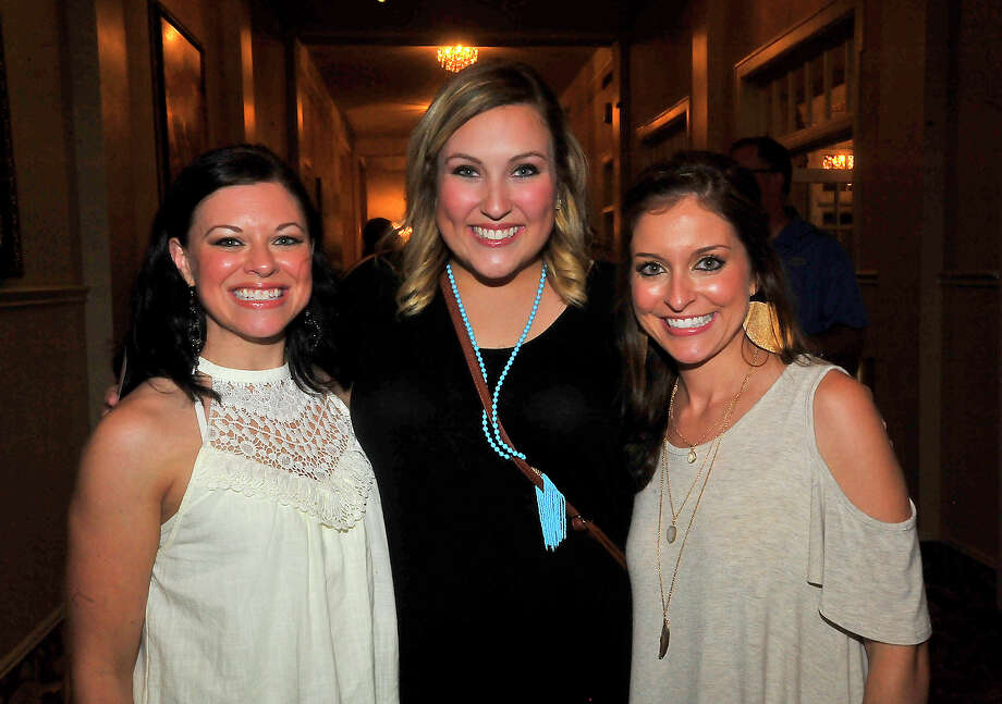 Crystal Coleman, Kelsey Stokes, and Michelle Keating were at the Dwight Yoakam concert Friday at the Julie Rogers Theatre. Photo taken Friday, August 19, 2016 Kim Brent/The Enterprise Photo: Kim Brent / Beaumont Enterprise