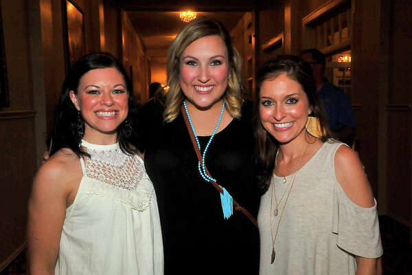 Crystal Coleman, Kelsey Stokes, and Michelle Keating were at the Dwight Yoakam concert Friday at the Julie Rogers Theatre. Photo taken Friday, August 19, 2016 Kim Brent/The Enterprise