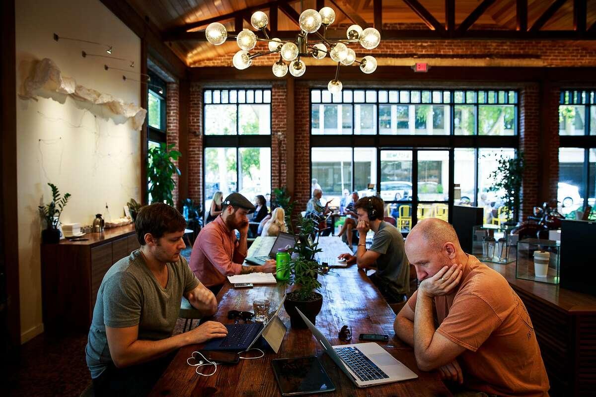 Temple Coffee in Sacramento, California, August 15, 2015.