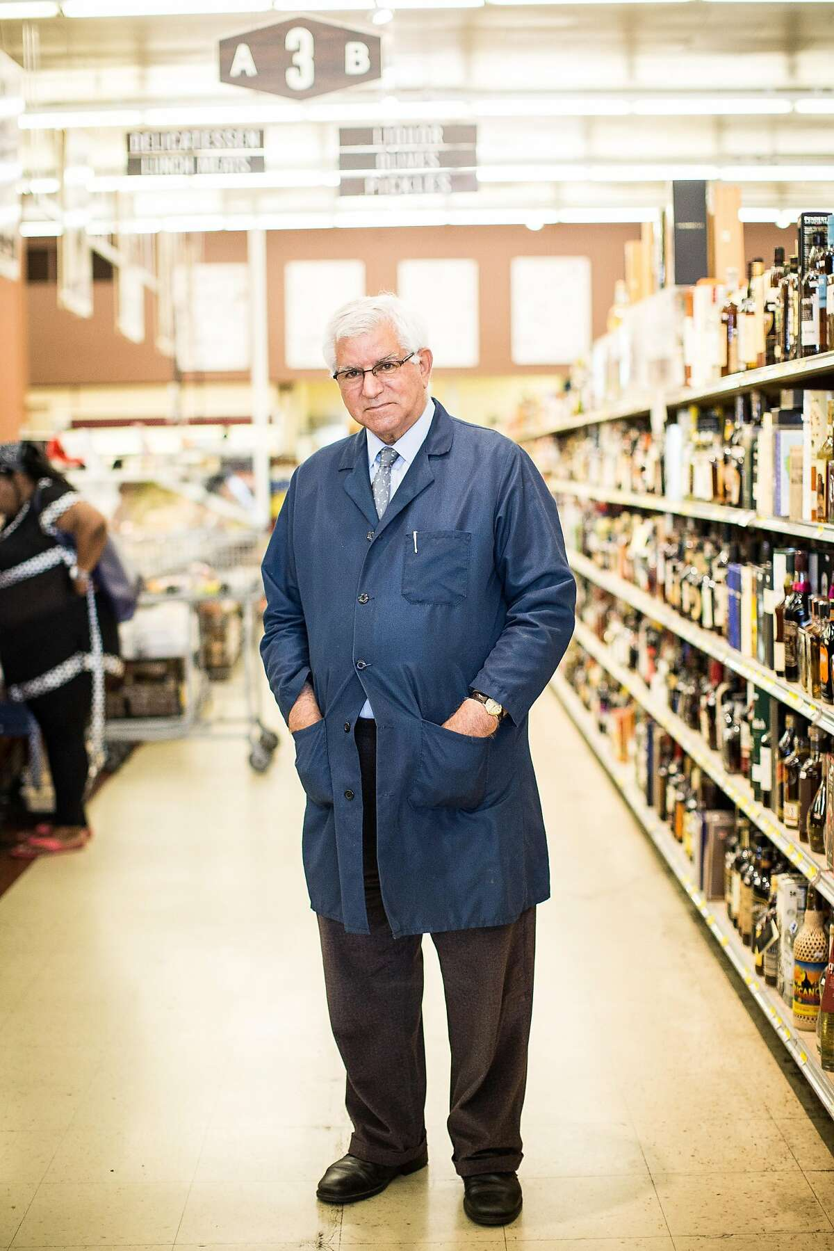 Darrell Corti, owner of Corti Brothers grocery store, poses for a portrait in east Sacramento, California, August 15, 2015.