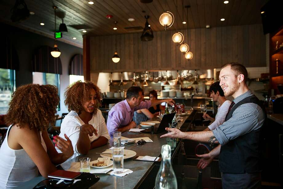 The bar at Hawk's Public House in Sacramento, California, August 15, 2015.  Click through this slideshow for stories of people who left the Bay Area for Sacramento. Photo: Max Whittaker/Prime, Special To The Chronicle