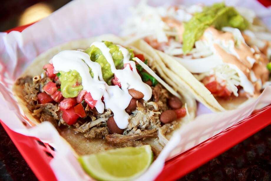 Carnitas and shrimp tacos at Sutter Street Taqueria in Folsom. Photo: Max Whittaker/Prime, Special To The Chronicle